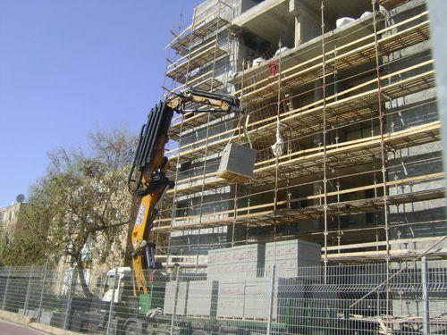 הנפת חומרי בניין 2