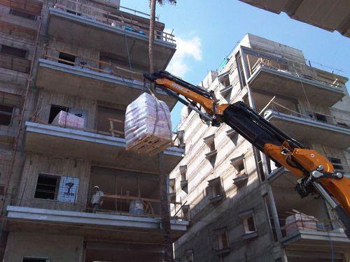 הנפת חומרי בניין 8